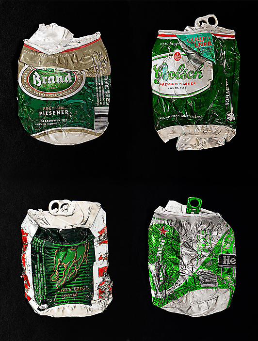 Four cans