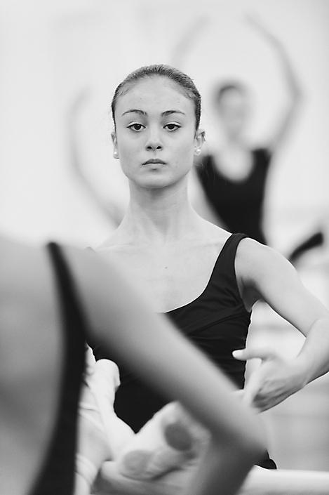 Gemaakt tijdens een repetitie van een dansgezelschap