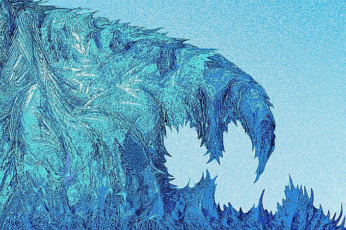 Frozen life - 80cmx120cm Louis Bertholet ©