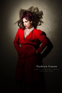 Red dress by Fashion Canon