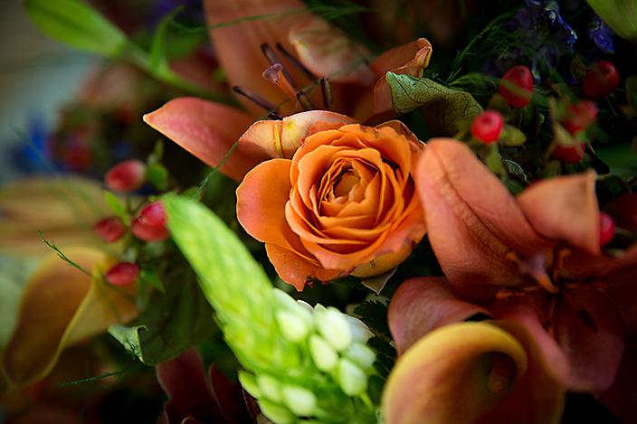 Detail foto bloemstuk