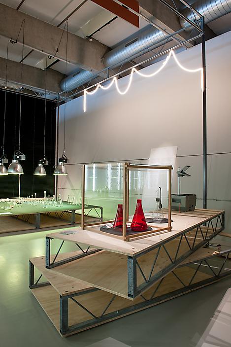 HNI - Glas tentoonstelling