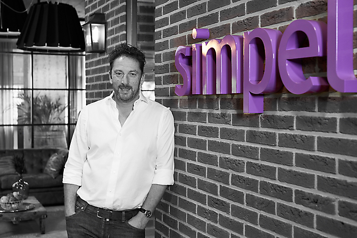 Jasper van Rooij, opdrachtgever Simpel.nl
