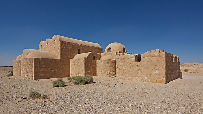 EvH Jordanie, Desert Castle