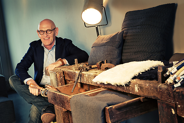 Portretbeeld van Eric Slijkhuis, eigenaar Slijkhuis Intereur Design