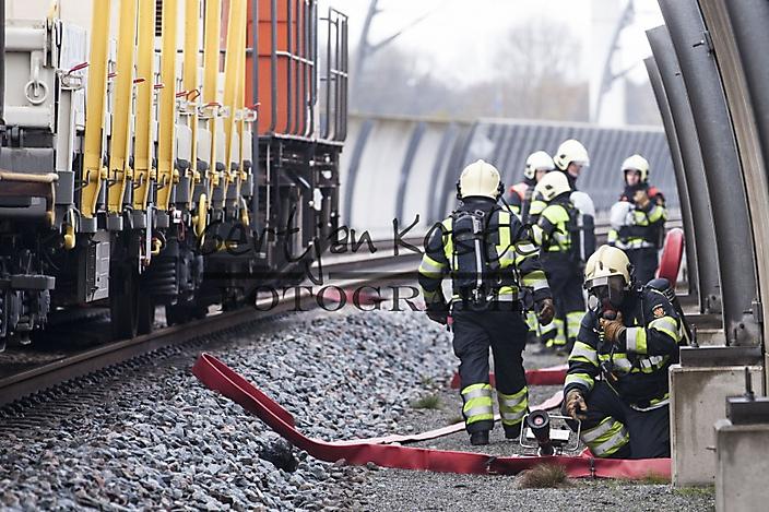 Calamiteitenoefening brandweer
