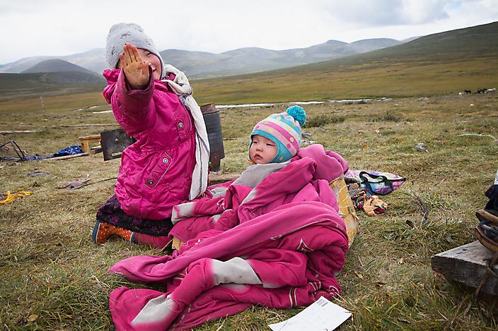 Reisfotografie: de nomadische Tsataan in Mongolië leven in het niets