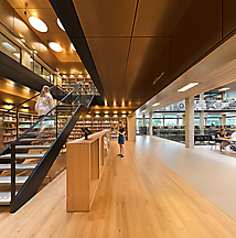 Erasmus Universiteits Bibliotheek Rotterdam, DvdP Architecten