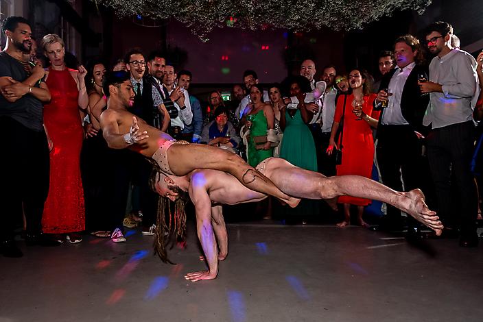 Bruiloftsfotografie - Feest & flitsen