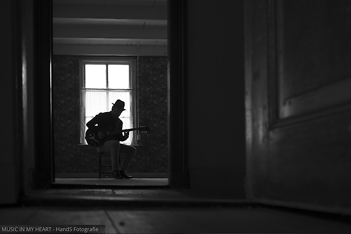 Muzikanten fotosessie