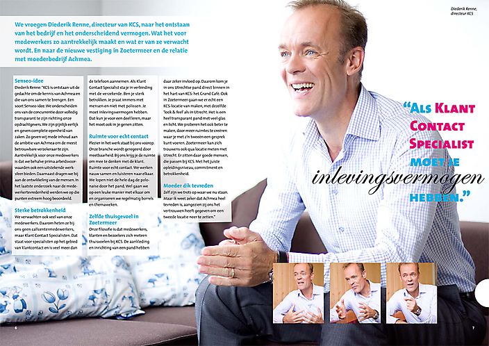 Glossy Magazine KCS Achmea iov Hemels van der Hart
