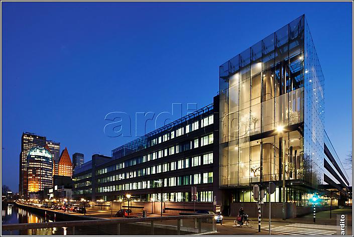 Den Haag, Korte Voorhout, Blue Hour