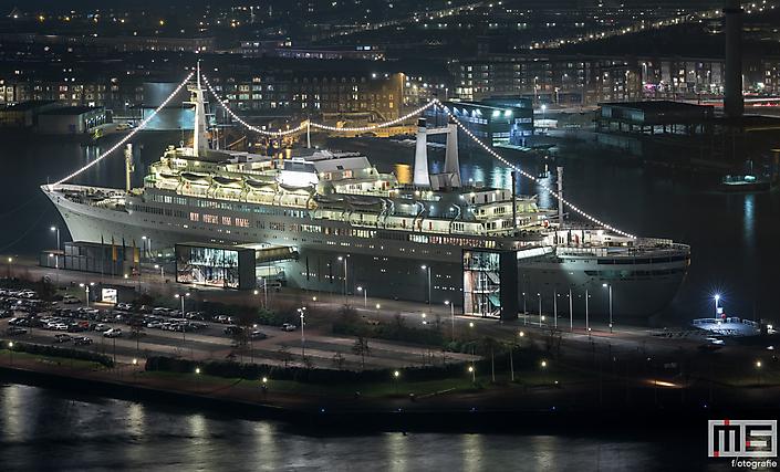 Het ss Rotterdam in Rotterdam Katendrecht