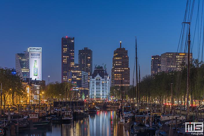 Het Haringvliet in Rotterdam