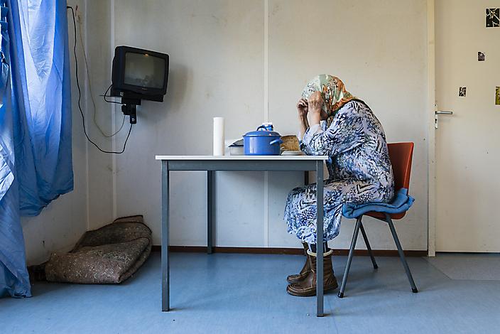 2012october ACZ VBL Ter Apel Refugee
