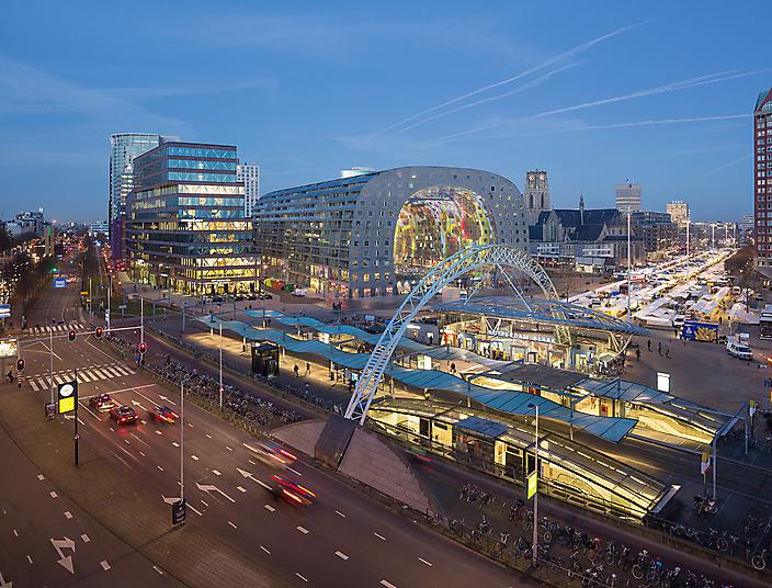 Markthal MVRDV, Rotterdam