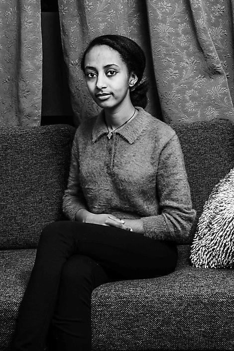 Danait, nieuwkomer uit Eritrea