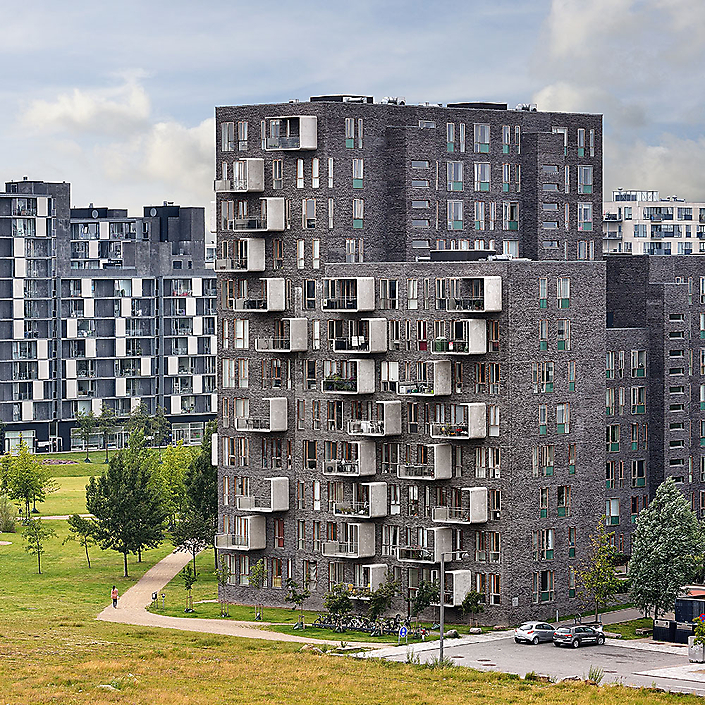 Orestad Apartments - Kopenhagen, Denemarken - Lundgaard & Tranberg