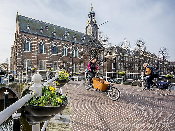 Universiteits gebouw Leiden Rapenburg