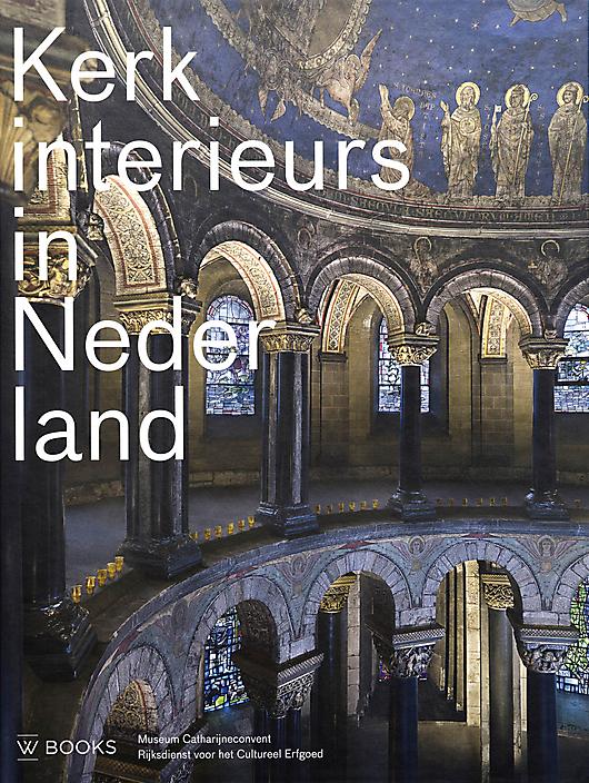 Kerkinterieurs in Nederland boek