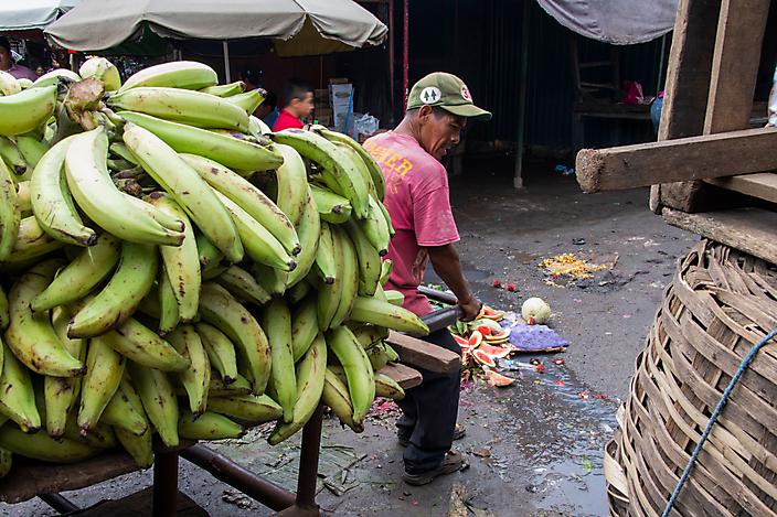 Bananen, Markt, Masaya, Nicaragua