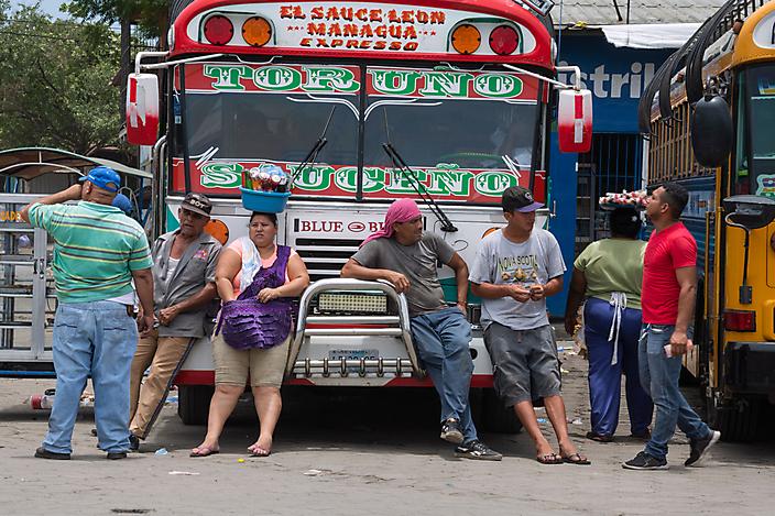 busstation Masaya, Nicaragua