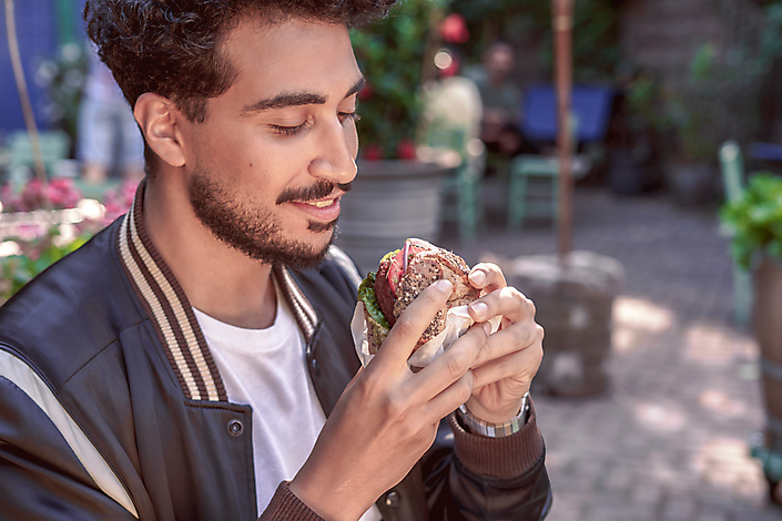 BeLeaf Vegan burger