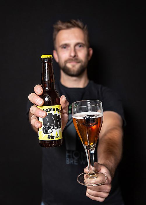 Branding shoot voor brouwerij Gebalde Vuist