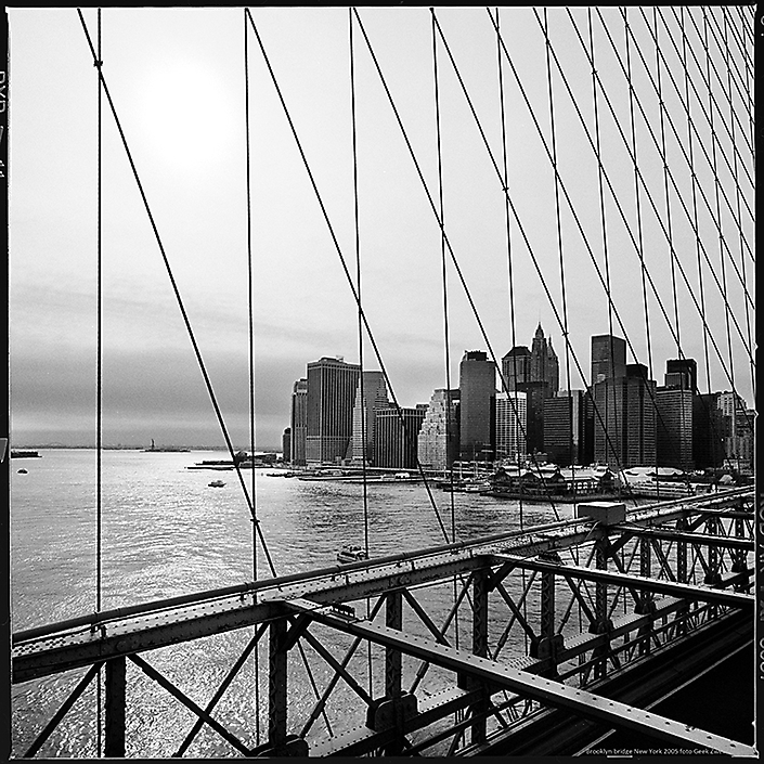 Booklyn Bridge New York foto Geek Zwetsloot