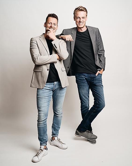 Brandbros Maarten & Thom studioportret