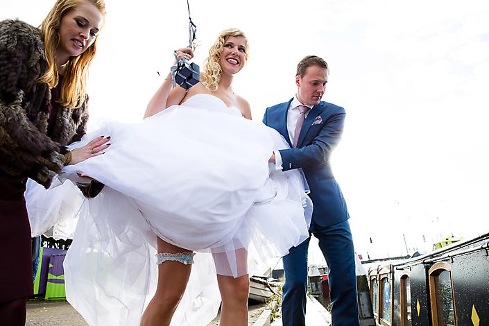 Bruiloft-Selma van der Bijl-huwelijksbootje