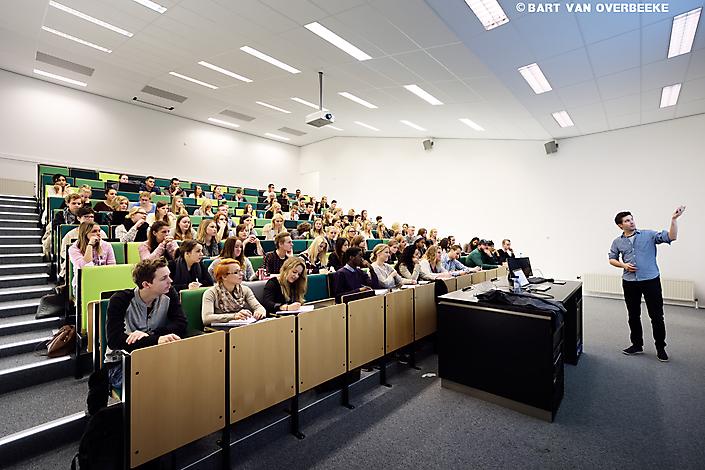 collegezaal Fontys Hogescholen