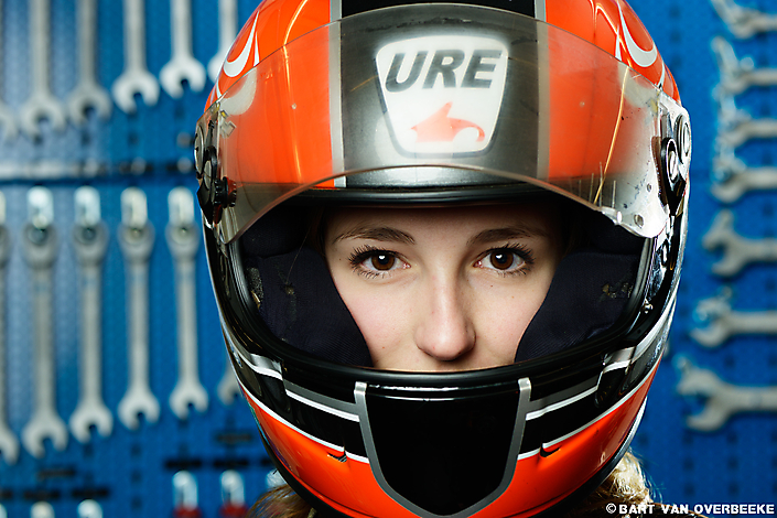 portret Laura, University Racing Eindhoven