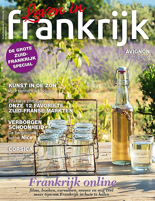 Coverfoto Zuid-Frankrijk special 2020 van tijdschrift Leven in Frankrijk