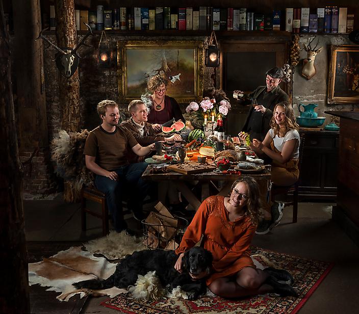 Familie de Ruiter | fotokunst op maat particulier