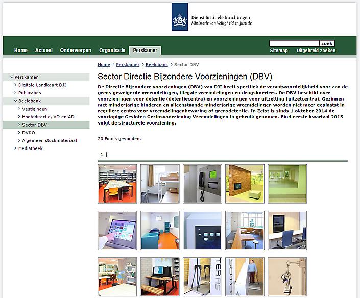 Beeldbank fotografie voor ministerie