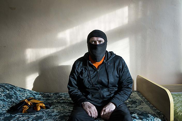Oekraïnse vrijwilliger die op een dodenlijst van de separatisten staat