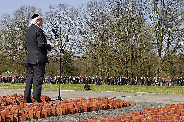 Herdenking Westerbork.