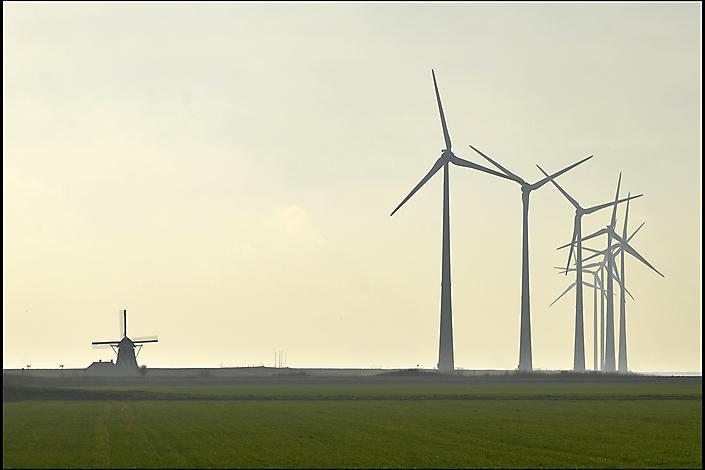 2015 Groningen, Windmolenpark