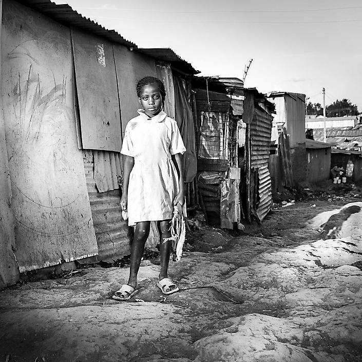 Carolina, Kibera Slum Nairobi