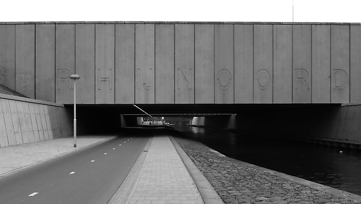 Rhynoord viaduct. A2 en Leidsche Rijn. Uit de serie