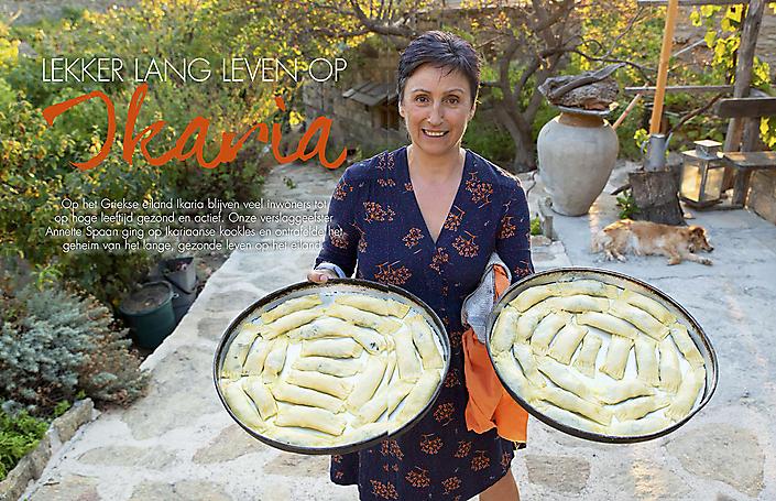 Artikel Lekker lang leven op Ikaria (tijdschrift Méditerranée)