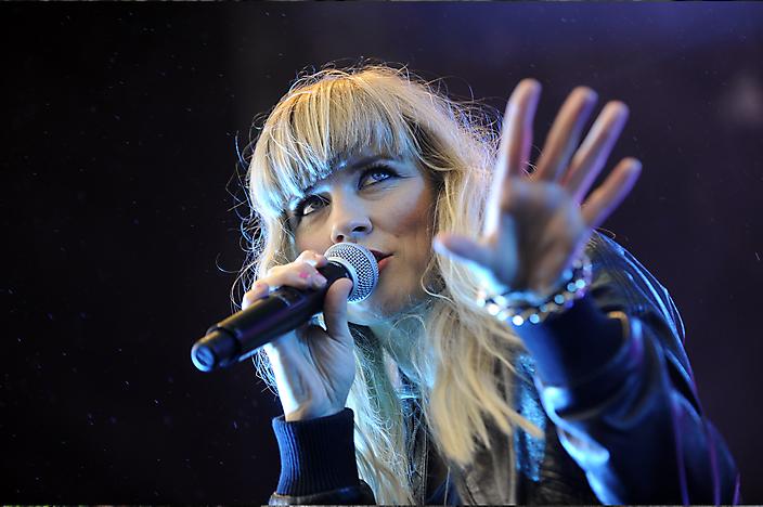 Eventfotografie Ilse De Lange tijdens optreden