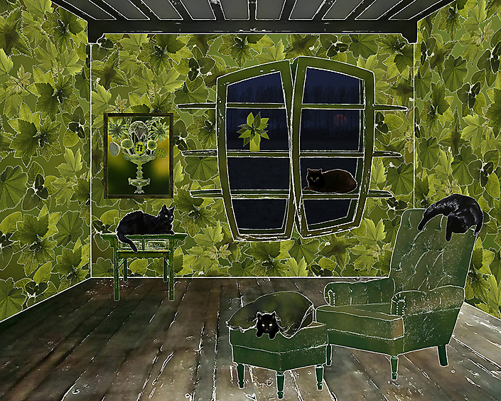 The room of plant biologist and geneticist (Joanne Chory)