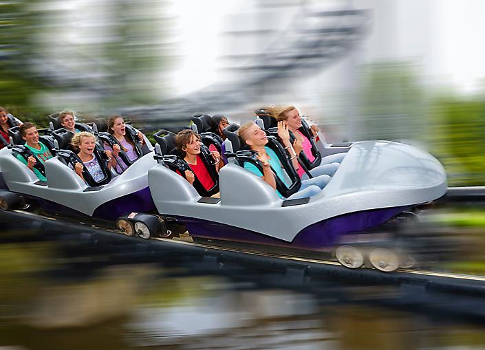 roller coaster@Walibi Holland