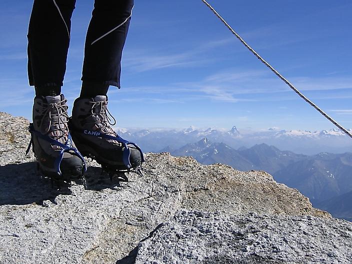 Matterhorn from Gran Paradiso 4067m
