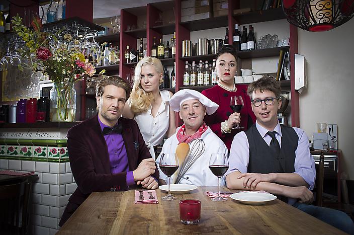 Cast Theaterversie In de Vlaamsche Pot 2017