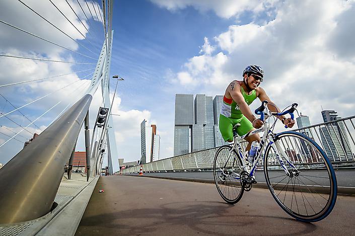 sport, paratriatlon in Rotterdam