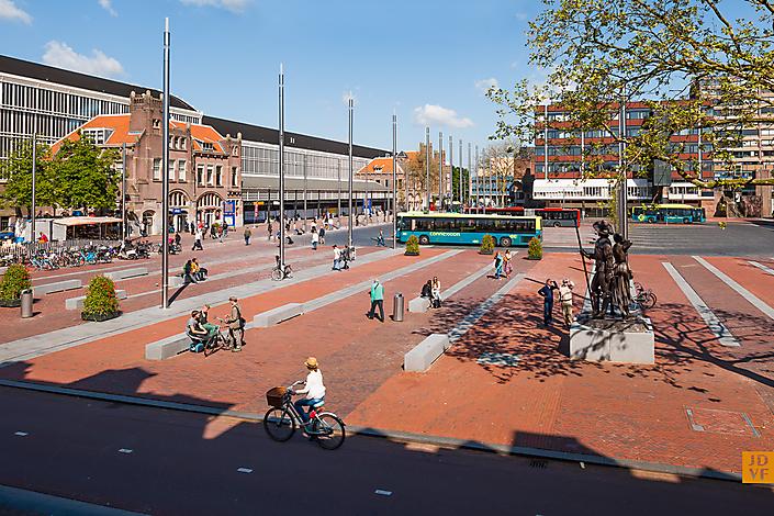 JDVF - Stationsplein Haarlem - wUrck - architectuur