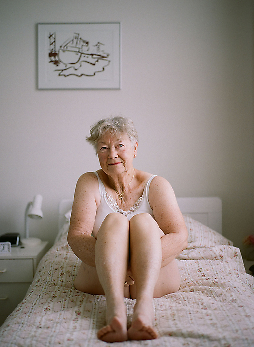 Grandma On Her Bed. I Am You (2019)